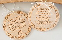 Tabliczka z życzeniami dla babci i dziadka