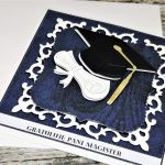 Kartka- Gratuluję Pani Magister - kartka dla magistra
