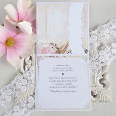Ślubna kartka  w pudełku 231