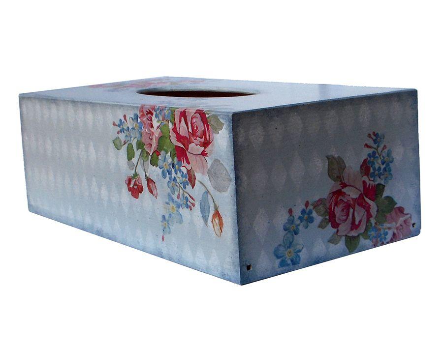 BUKIETY RÓZ - pudełko na chusteczki - BUKIETY RÓŻ- chustecznik, pudełko na chusteczki