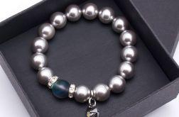 Bransoletka z pereł  Perła Silver 03