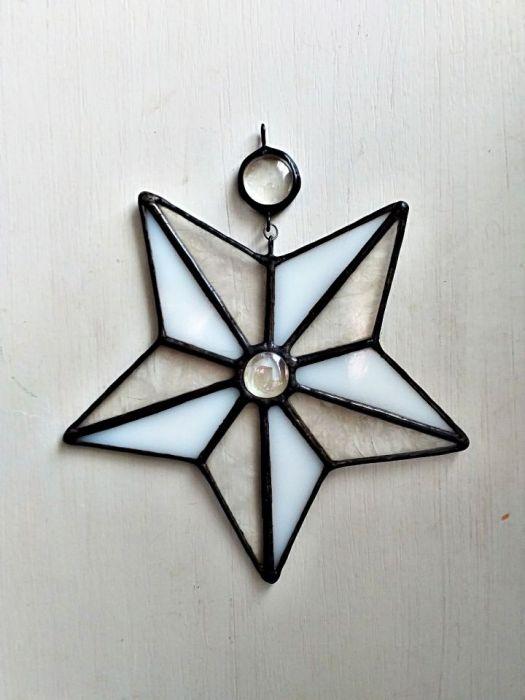 Bombka / zawieszka Gwiazda Tiffany