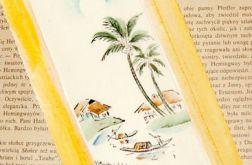 Zakładka do książki malowana 1