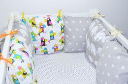 Modułowy ochraniacz do łóżeczka 6 szt N4