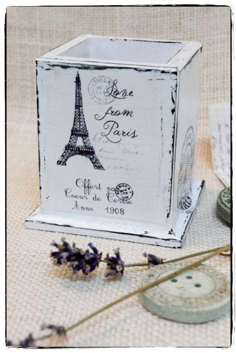 Przybornik na długopisy ~Paris...~