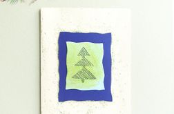 Kartka  świąteczna minimalizm 89