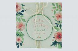 Zaproszenia Ślubne Green & Roses