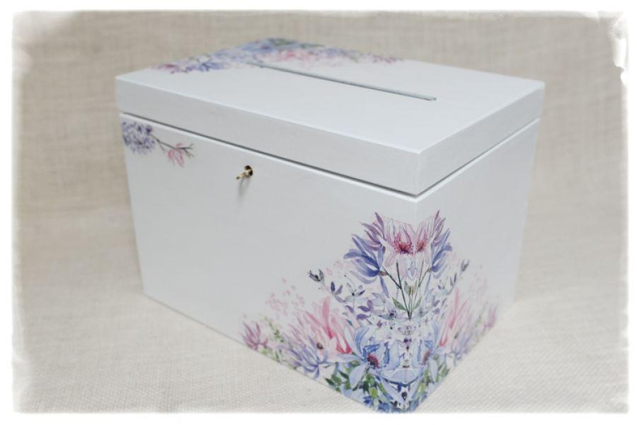 Skrzynka na koperty ślub,  personalizacja -
