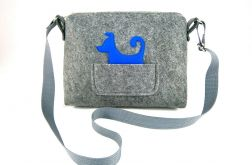 Small bag with blue dog