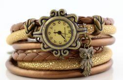 Zegarek - Bransoletka Sowa