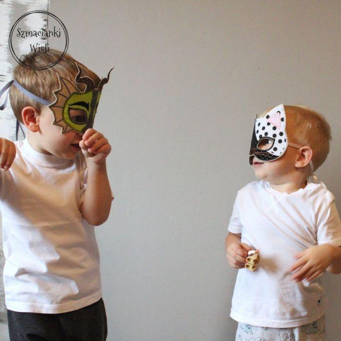 Maska dla dzieci i dorosłych - KOT