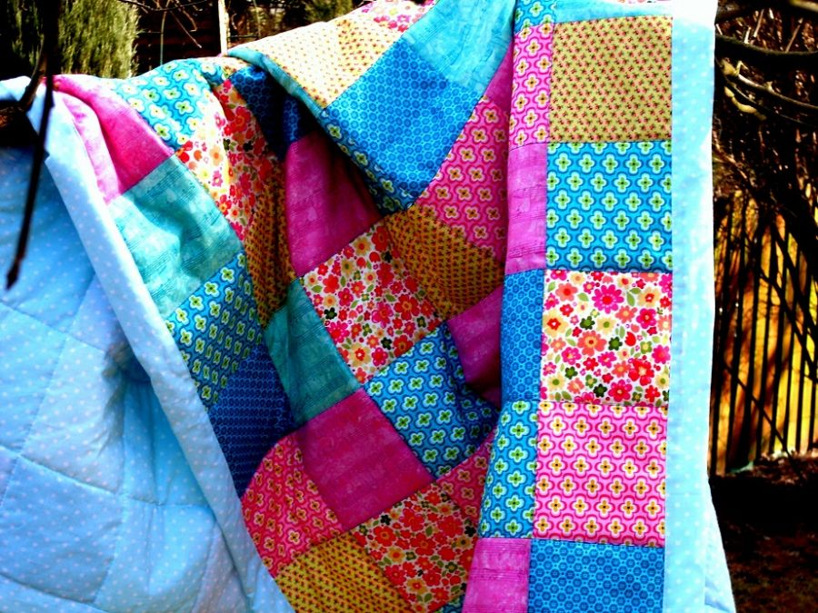Narzuta patchworkowa Albertine SALE!
