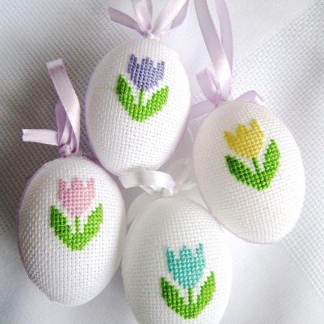 haftowane jajeczka