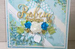 Kartka Dzień Babci dla Babci niezapominajki
