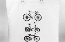 Rowery - torba bawełniana z nadrukiem