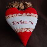 Walentynkowa czerwień serca