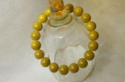2.Bransoletka ze szklanych koralików 10mm