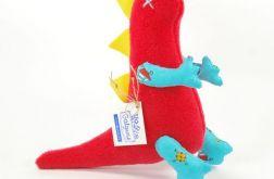 Czerwono-niebieski dinozaur