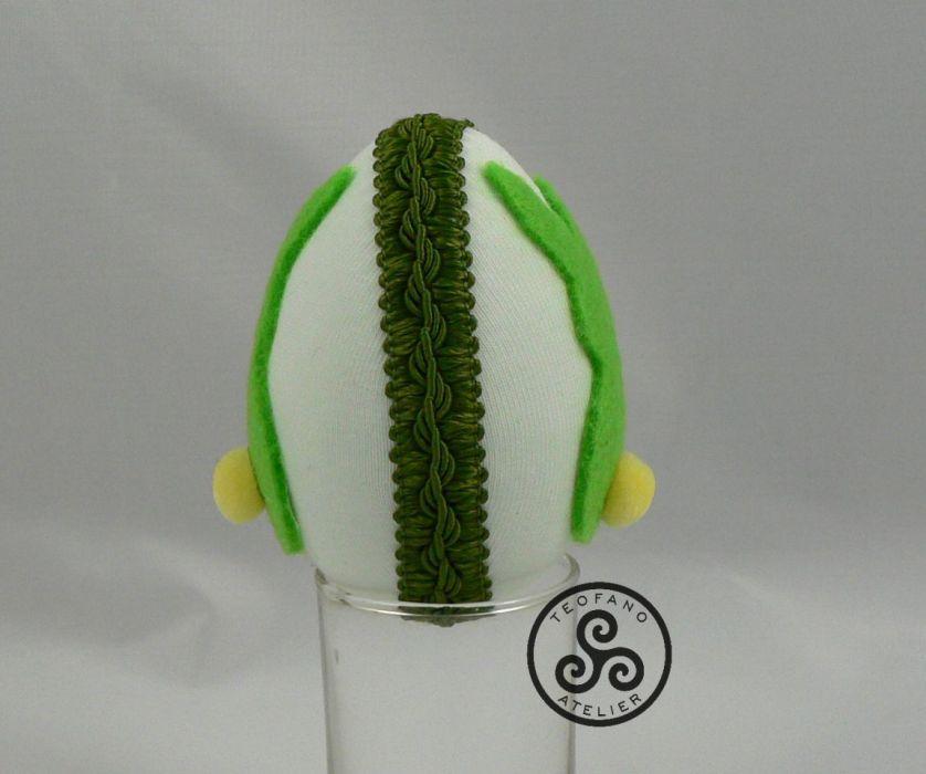 Zielone jajko z zajączkiem (01) - teofano atelier, wielkanoc