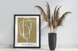 Plakat ABSTRACT LINES no.2 50x70 cm