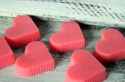 10 x Mydło różane serca upominek