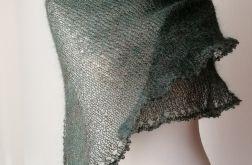 Niezwykła zielenie duża chusta