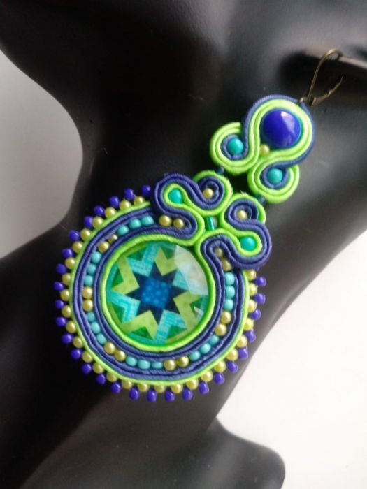 Kolczyki sutasz Blue Star
