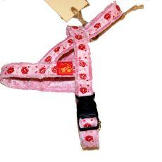 Szelki dla psa, różowe
