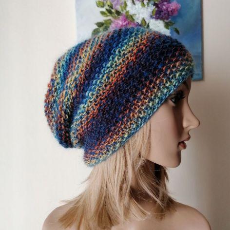 Głębia barw czapka