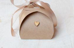 Eko pudełeczko na prezent dla gości #01