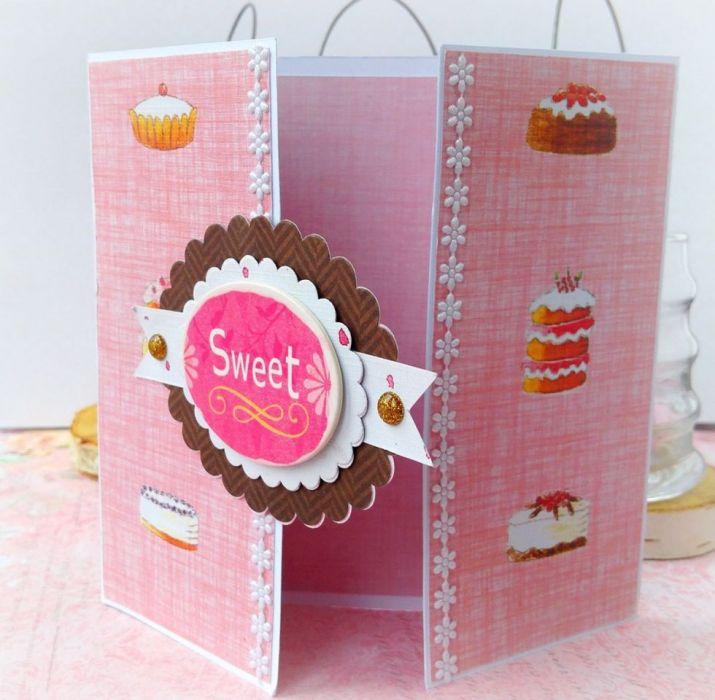 Kartka z odrobiną słodyczy