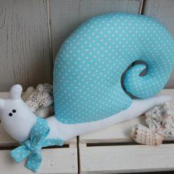 Błękitny - ślimak tilda