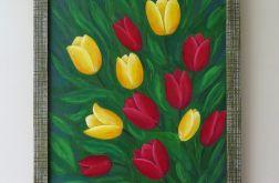 """Obraz """"Jeszcze jedne tulipany..."""""""