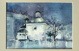 Wieczorny kościół św. Wojciecha