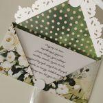 Kartka kopertówka kopertowa urodzinowa - życzenia