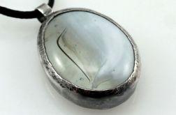 Mleczny w srebrze - wisior 200802-01