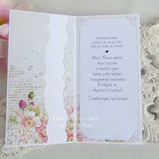 Ślubna kartka w pudełku 200
