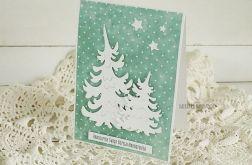 Kartka świąteczna z choinką, 328