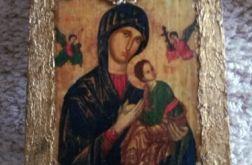 Ikona z Matką Bożą Nieustającej Pomocy