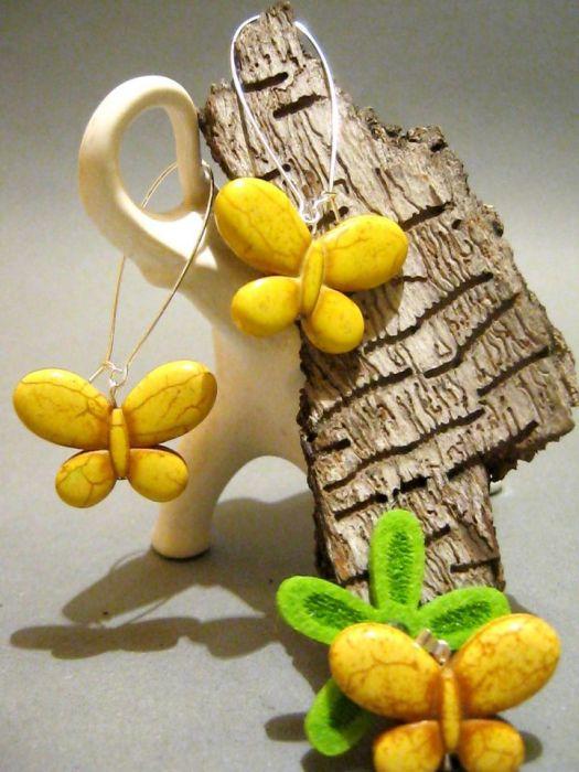 Motyle, motylki.... żółte