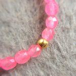 The One pink pierścionek elastyczny