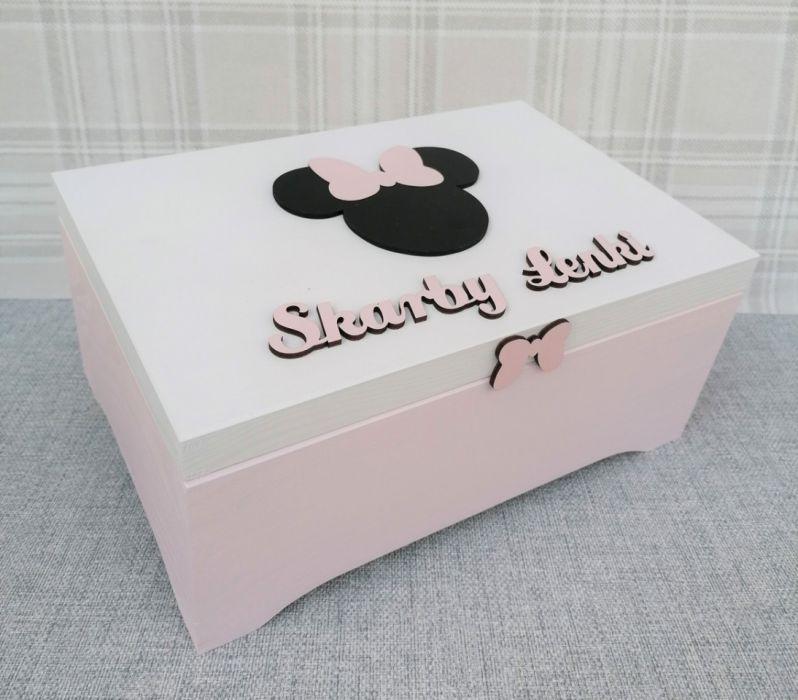 Pudełko na skarby XXL - Myszka Minnie