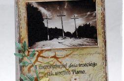 Kartka wielkanocna z krzyżami vol.2