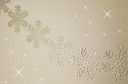 Girlanda - śnieżynki
