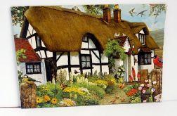Letni domek w stylu folk