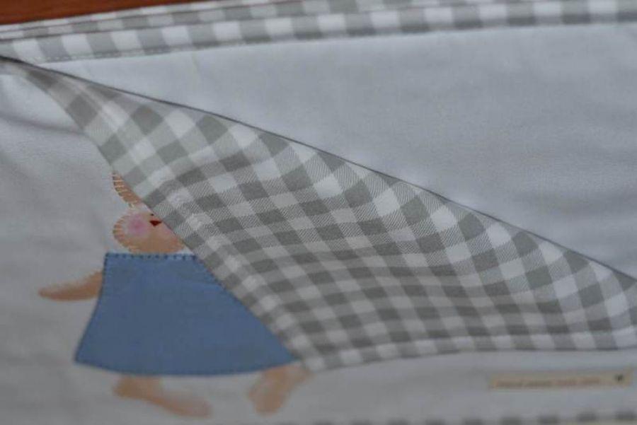 Podkładki pod talerze - przód i tył
