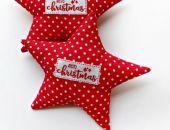 CHRISTMAS - gwiazdeczki w kropeczki