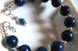 Lapis lazuli, bransoletka do kompletu