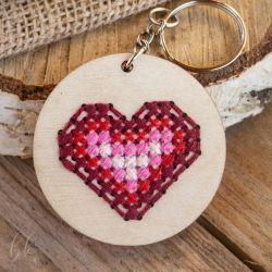 Brelok - serce pełne miłości
