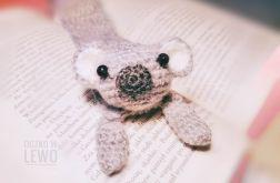 Zakładka do książki - Szydełkowa - Koala